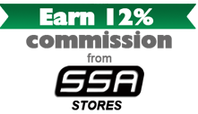 Earn 12% Commission from SSA Stores